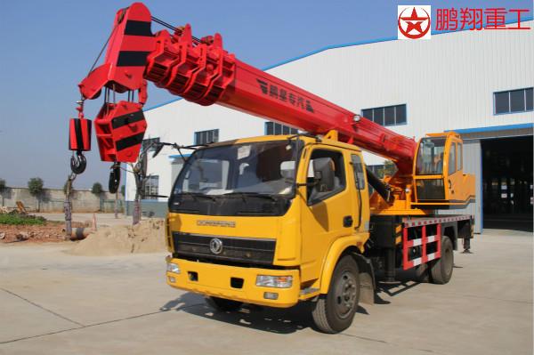 湖南长沙12吨汽车吊(东风底盘)