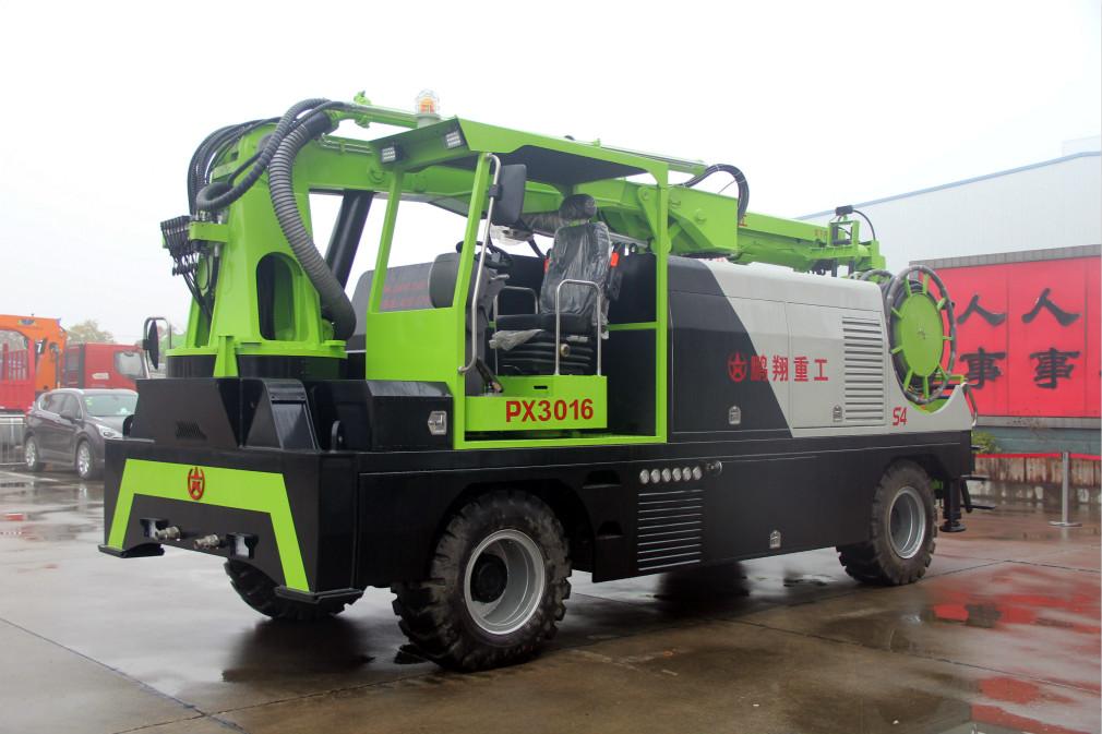 PX3016 S4轮式湿喷机械手-长沙最好的湿喷机生产厂家-湖南长沙鹏翔重工
