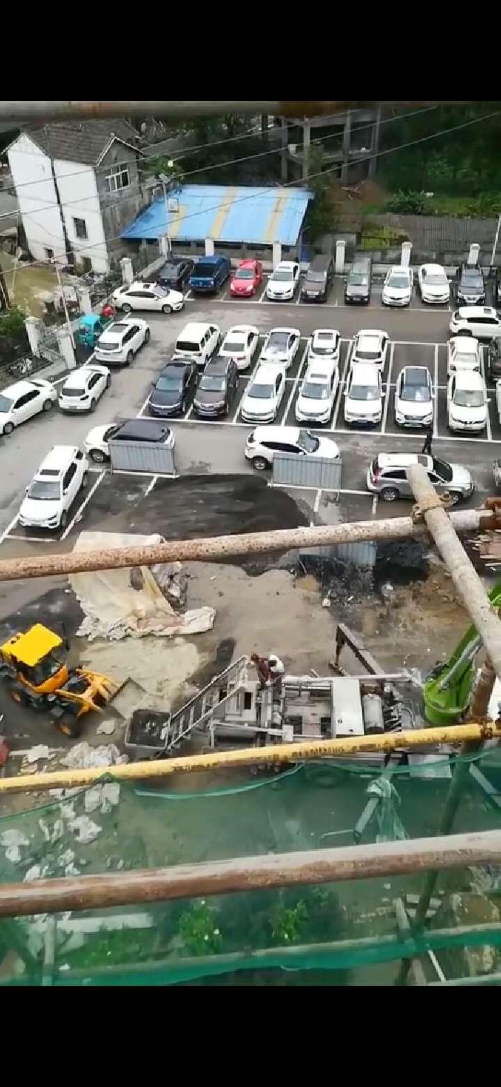 贵州毕节34米搅拌天泵开工大吉!